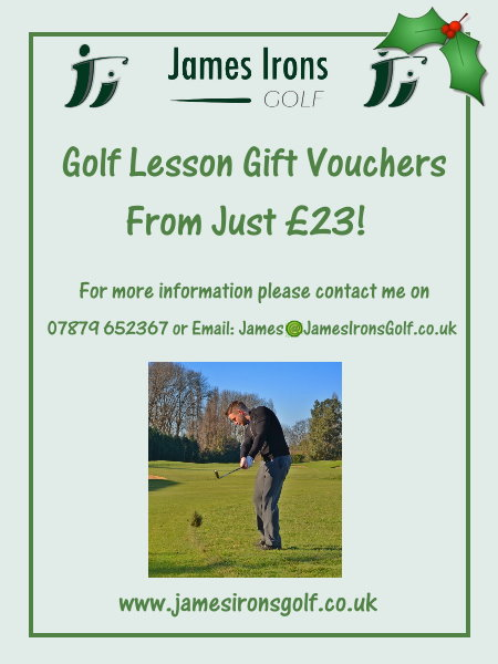 Christmas Golf Vouchers