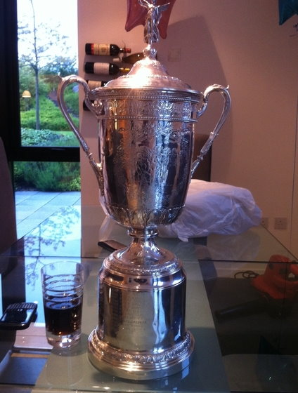 US Open Trophy | James Irons Golf
